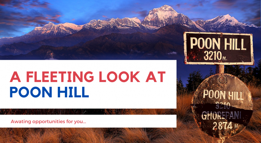 A Fleeting Look at Poon Hill